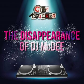 Disappearance of DJ McDee Poster